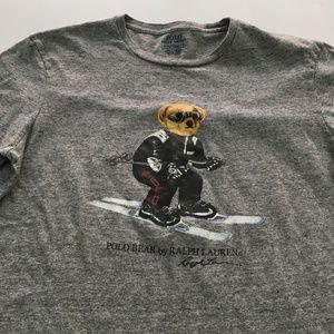 Ralph Lauren Ski Bear Tee Graphic T Shirt S/M